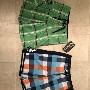 Boys Hurley swim trunks